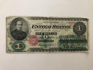 1862 $1 Dollar Legal Tender