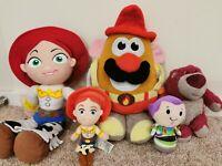 Disney Toy Story Plush Bundle Jessie Buzz Lotso Mr Potato Head Toys Job Lot