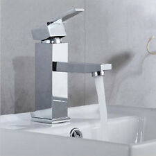 Vanity Sink Faucet Bathroom Mixer Tap Brass Single Lever Chrome Finish Brand New