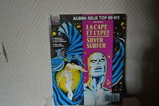 LIVRE ALBUM RELIE TOP BD n°5  LA CAPE ET L EPEE SILVER SURFER SEMIC MARVEL 1989