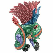LARGE GRIFFIN Oaxacan Alebrije Wood Carving Mexican Folk Art Sculpture Painting
