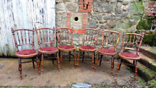 Beech Rustic Antique Dining Chairs