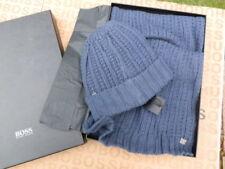 Sciarpa da uomo blu 100% Cotone