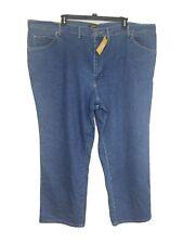 Lee Mens 54x30 Jeans Stretch Regular Fit Straight Leg Medium Wash Big & Tall NWT