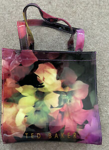 TED BAKER SMALL FLORAL TOTE BAG - PRE-OWNED BUT NEVER USED
