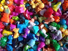gogos crazy bones bundle of 25 RANDOM figures, (incl sparkling glossy and foil)