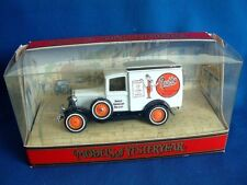MATCHBOX MODELS OF YESTERYEAR Y22 - FORD A VAN -  PRATTS  -