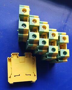Phoenix Contact UK 35 USLKG BU 35mm² Reihenklemmen Schutzleiterklemme