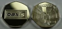 OASIS '(WHAT'S THE STORY) MORNING GLORY..?' Silver Coin Albums/50p Collectors.