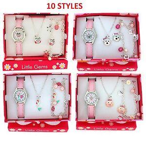 Ravel Little Gems Girls Watch & Jewellery Child Childrens Xmas Gift Set For Kids