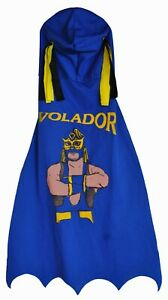 NWOT EL VOLADOR BOYS KIDS MASK WITH CAPE WRESTLING COSTUME IMPORTED FROM U.S.