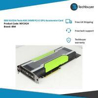 IBM NVIDIA Tesla K80 24GB PCI-E GPU Accelerator Card - 90Y2424