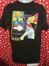 Nike Volleyball T shirt 90s Neon Bump Set Spike Just Do It Gray Tag Large Read!!