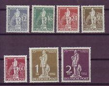 Postfrische Briefmarken aus Berlin (1948-1949) mit Post- & Kommunikations-Motiv