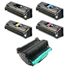 HP Color Laserjet 2550 2550L 2550LN 2550N 2820 2840 TONERS + DRUM CARTRIDGE SET