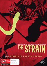 The Strain : Season 4 (DVD, 3-Disc Set) NEW