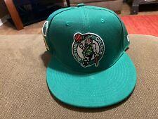 Boston Celtics Adjustable Snapback Hat Cap NBA Green Brand New