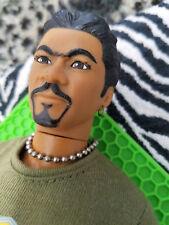 Star Wars Lando Calrussian Figure Billy Dee Williams Doll Painted Pierced OOAK