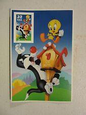 Souvenir sheet lot  #3204c 32c Sylvester&Tweety - Looney Tunes 1998 WARNER BROS.