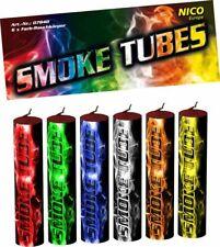NICO 6X Smoke Tube Rauchfackeln Rauchbomben Raucherzeuger Rauchtopf