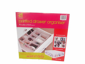 12 Compartment Drawer Organiser Drawer Inserts Storage Solutions