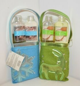 U PICK 3 PC Set Mint Cocoa or Coconut Citrus Lotion & Shower Gel Bottles are LOW