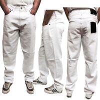 New Men Denim Designer Georgio Peviani G Denim True Star White Comfort Fit Jeans