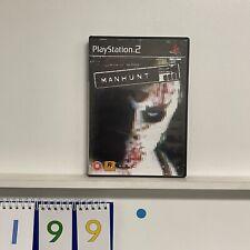 Manhunt PS2 Playstation 2 Game + Manual PAL B199