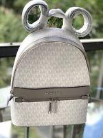 Michael Kors Women Lady Girls Medium Leather School Backpack Travel Shoulder MK
