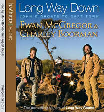 AUDIO CD..Long Way Down Ewan McGregor & Charley Boorman  read by Mark Bonnar &