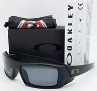 NEW Oakley Si Gascan sunglasses  Matte Black Grey Polarized 11-122 gas Military