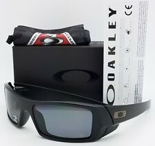 NEW Oakley Si Gascan sunglasses  Matte Black Grey Polarized 11-122 gas Military