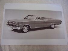1966 MERCURY COMET CALIENTE CONVERTIBLE   11 X 17  PHOTO  PICTURE