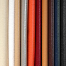 1-20 Yards Solid Marine Vinyl Synthetic Faux Leather Fabric Upholstery Pleather