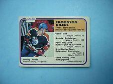 1981/82 O-PEE-CHEE NHL HOCKEY CARD 126 WAYNE GRETZKY LEADER EX+ NICE!! 81/82 OPC