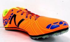 New Balance Mens Orange Middle Distance Spike Shoe Size 10.5 M