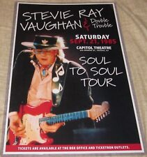 STEVIE RAY VAUGHAN 1985 CAPITOL THEATRE PASSAIC NJ REPLICA CONCERT POSTER