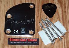 Fender Nashville Telecaster Neck Plate Chrome Guitar Parts Project Contour USA