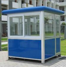 New 6.5 X 6.5 Security / Ticket / Valet Parking Booth Prefabricated / Kiosk