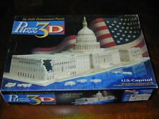 3D PUZZLE Puzz3D US Capitol USA Washington DC White House American President Fun