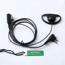 Fast Motorola Radio D Earpiece Headset Mic Cls1110 Cls1410 Cls1413 Cls145Cb Vl50