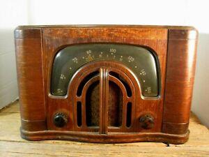 Antique Vintage Wood Case - ZENITH - Table Radio Model 6D629 - 1942