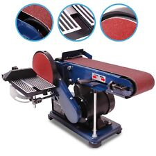 HEAVY DUTY HOME WORKSHOP WOOD PLASTIC SANDING POWER BELT DISC SANDER MACHINE