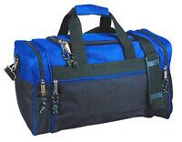 "20"" Men/Women Travel  Duffle Duffel Gym Sports Bag, Multi-Usage Royal/Black"