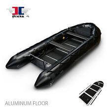 """12' 6"""" - 380-MIL INMAR Military Inflatable Boat Dive / Fish / Scuba - Alum floor"""