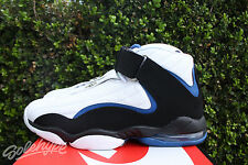 NIKE AIR PENNY IV 4 SZ 9 WHITE ATLANTIC BLUE HARDAWAY 864018 100