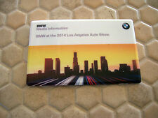 BMW X5M X6 X6M 2 SERIES CONVERTIBLE LOS ANGELES PRESS FLASH DRIVE CARD 8Gb 2014
