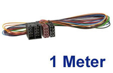 ISO Radioadapter 1m ISO Buchse auf ISO Stecker Verlängerung 1 Meter Kabel