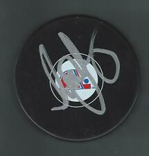 Scott Young Signed Quebec Nordiques Puck