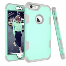 Rugged Protective Case Shockproof Hybrid Rubber Hard Cover For iPhone 6S 7 Plus